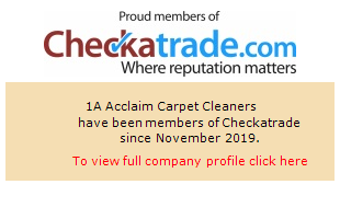 Checkatrade information for 1A Acclaim Carpet Cleaners