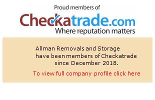 Checkatrade information for Allman Removals and Storage