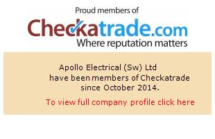 Checkatrade information for Apollo Electrical (Sw) Ltd