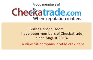 Checkatrade information for Bullet Garage Doors