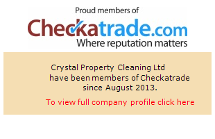 Checkatrade information for Crystal Property Cleaning Ltd