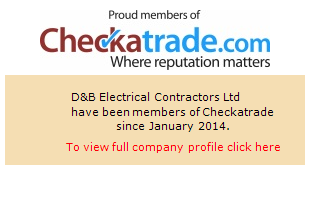 Checkatrade information for D&B Electrical Contractors Ltd