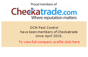 Checkatrade information for DCM Pest Control