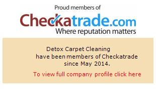 Checkatrade information for Detox Carpet Cleaning