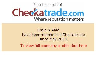 Checkatrade information for Drain & Able