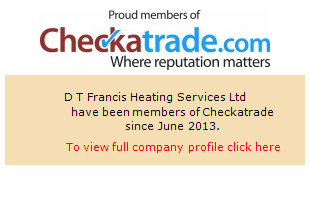 Checkatrade information for D.T Francis Heating Services Ltd