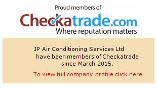 Checkatrade information for JP Air Conditioning Services Ltd