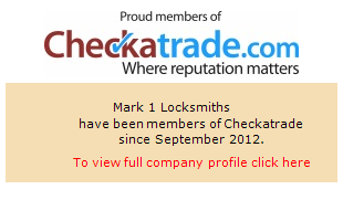 Checkatrade information for Mark1Locksmiths