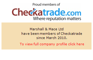 Checkatrade information for Marshall & Mace Ltd