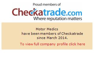 Checkatrade information for Motor Medics
