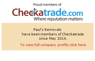Checkatrade information for Paul's Removals