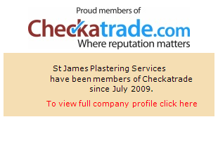 Checkatrade information for St James Plastering Services