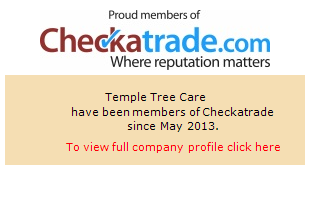 Checkatrade information for Temple Tree Care