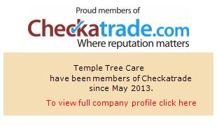 Checkatrade information for Temple Tree Care