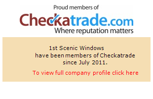 Checkatrade information for 1st Scenic Windows