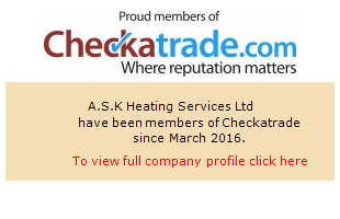 Checkatrade information for A.S.K Heating Services Ltd