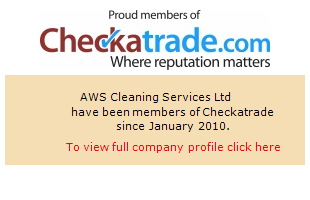 Checkatrade information for AWS Cleaning Services Ltd