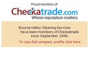 Checkatrade information for Bourne Valley Cleaning Services