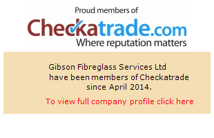 Checkatrade information for Gibson Fibreglass Services Ltd