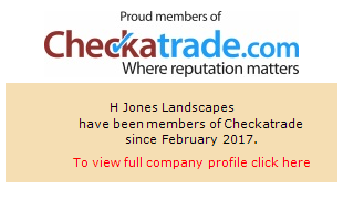 Checkatrade information for H Jones Landscapes