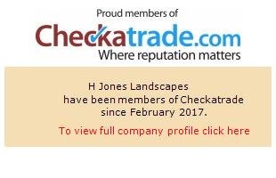 Checkatrade information for H Jones Landscapes