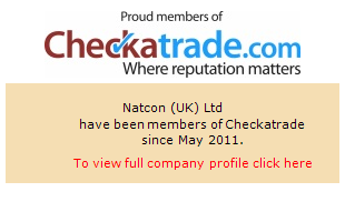 Checkatrade information for Natcon (UK) Ltd