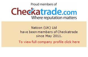 Checkatrade information for Natcon (UK) Ltd