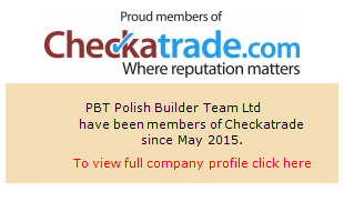Checkatrade information for PBT Polish Builder Team Ltd
