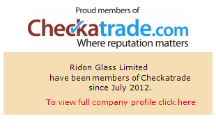 Checkatrade information for Ridon Glass