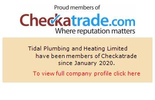 Checkatrade information for Tidal Plumbing and Heating Ltd