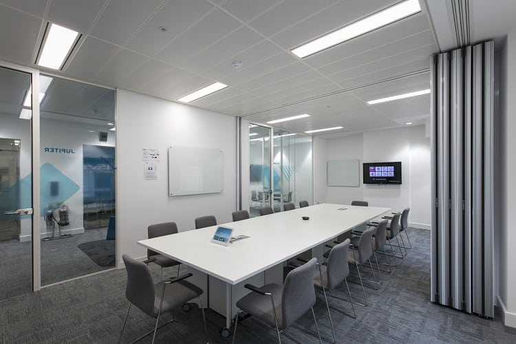 office fit out takes many tradespeople