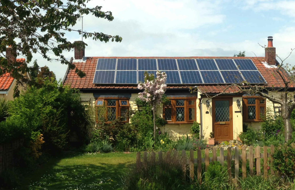 cottage solar panel installation cost