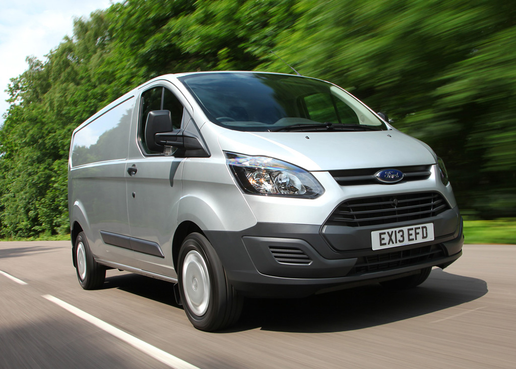 sell your van Ford transit custom