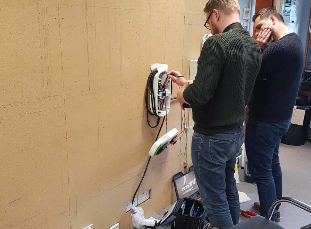 electrical charge point training