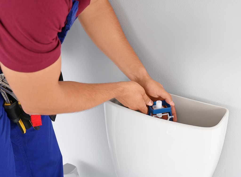 repair toilet cistern
