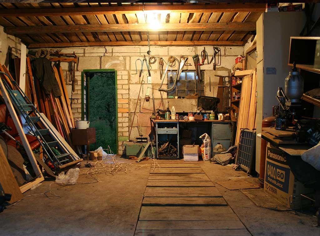 garage declutter wall mount