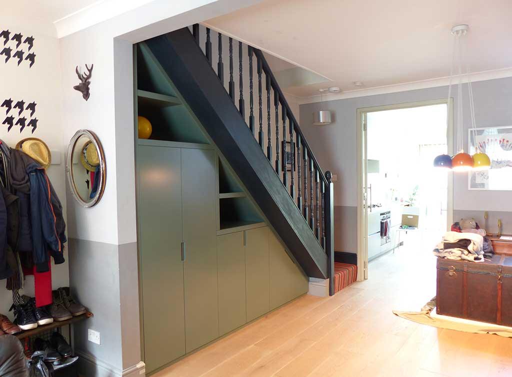 under stairs storage bespoke