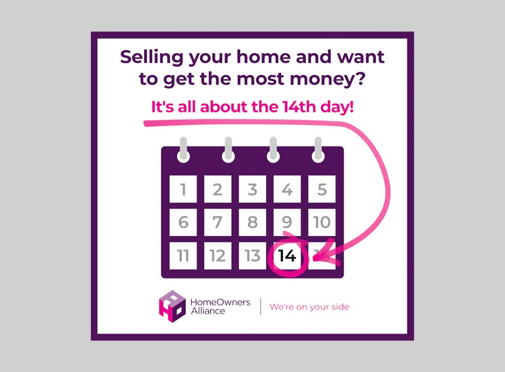 selling your home 14 days