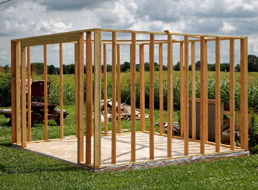 shed base construction