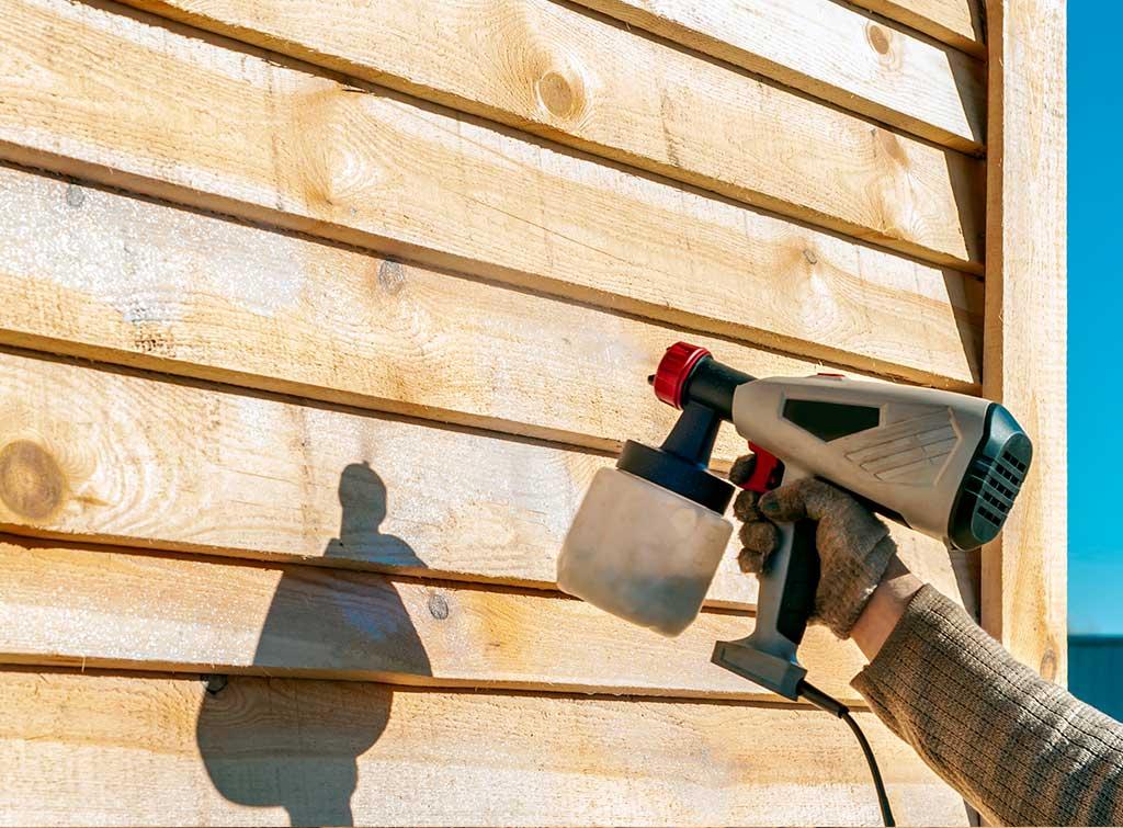 treating external timber