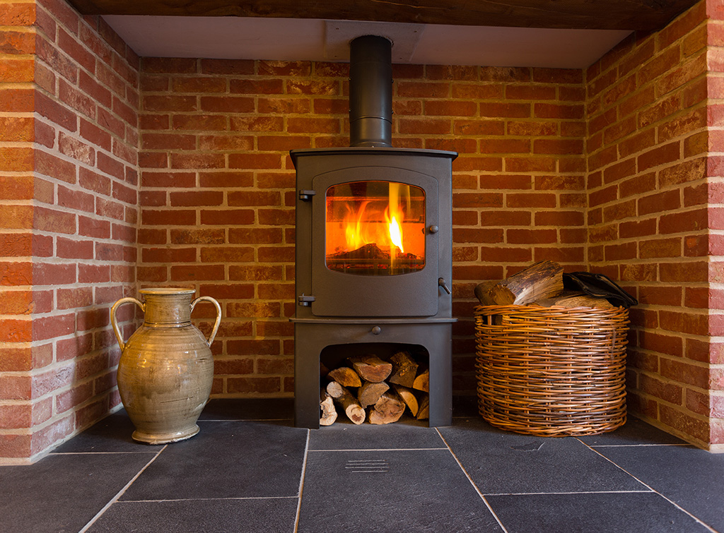 This is an image of a log burner to represent our blog on HETAS certificates