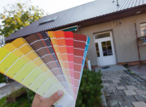 Paint home exterior
