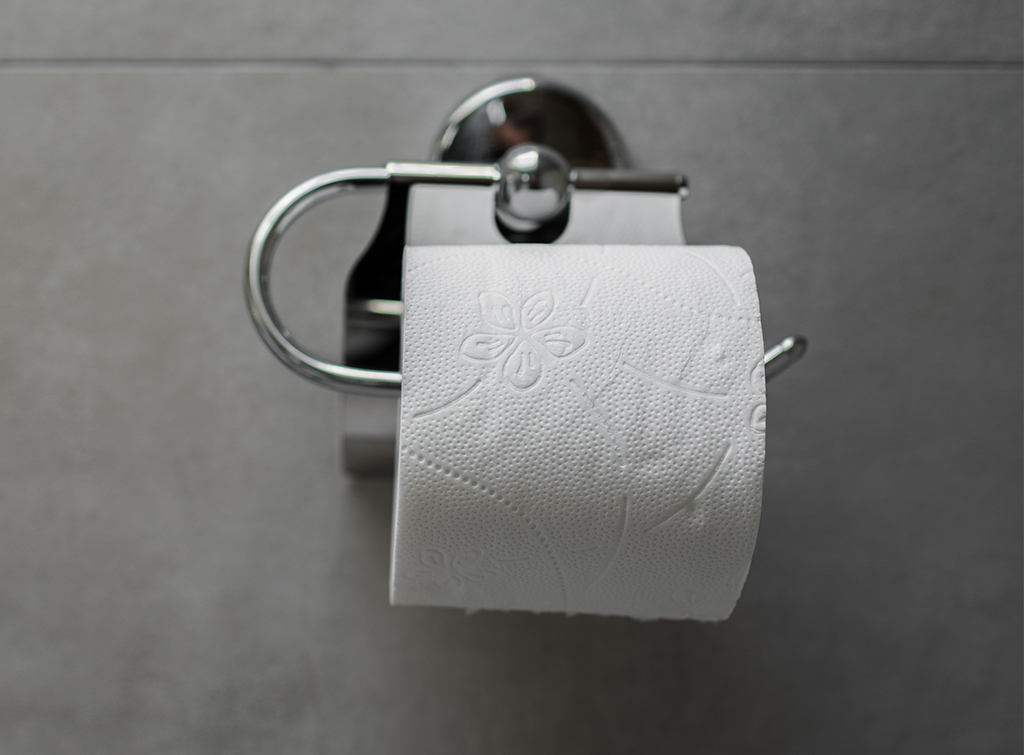 fix the toiler roll holder