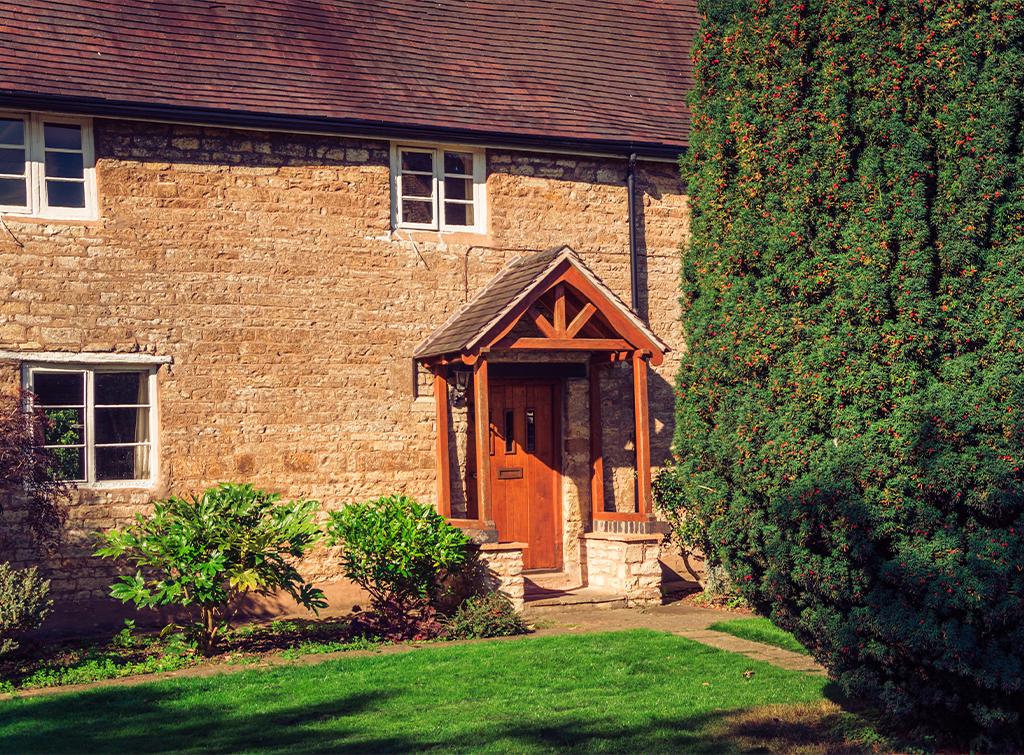 Oak porch build cost