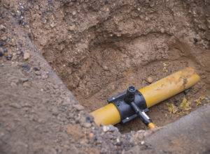 Laying a gas pipe image gas installation guide