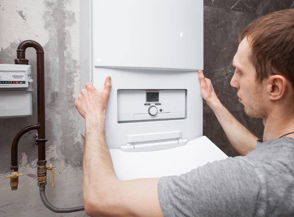Cost of moving a boiler