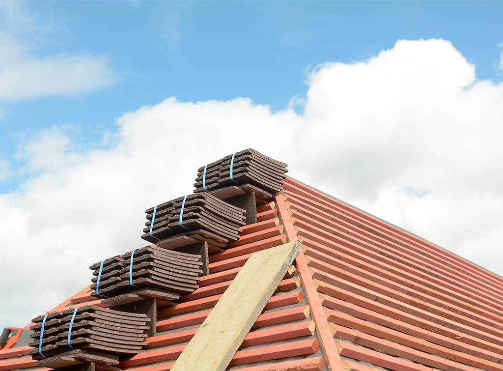 Retile roofing costs