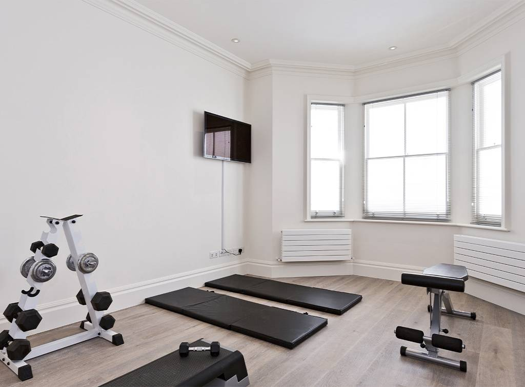 Home gym on wish list after lockdown