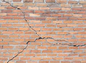 Cracked brick foundation cost
