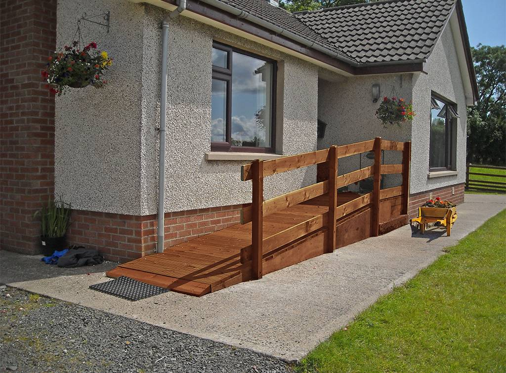 cost of installing a wheelchair ramp